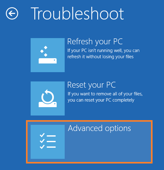 Safe Mode - Troubleshoot - Advanced Options -- Windows Wally
