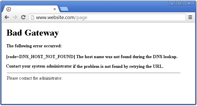 Server Errors - 502 Bad Gateway - SolvuSoft