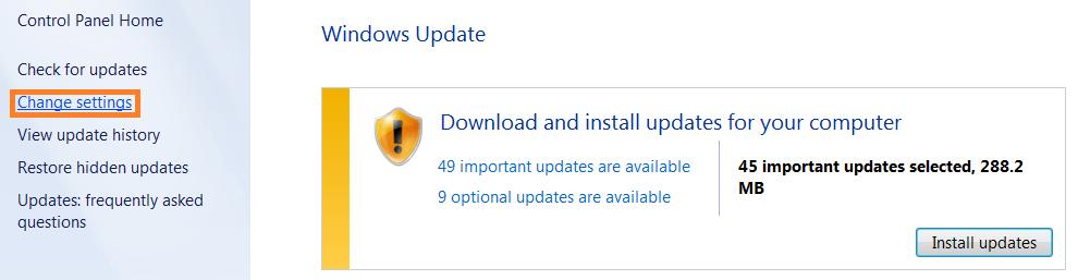 Software Updates - Windows Update -- WindowsWally