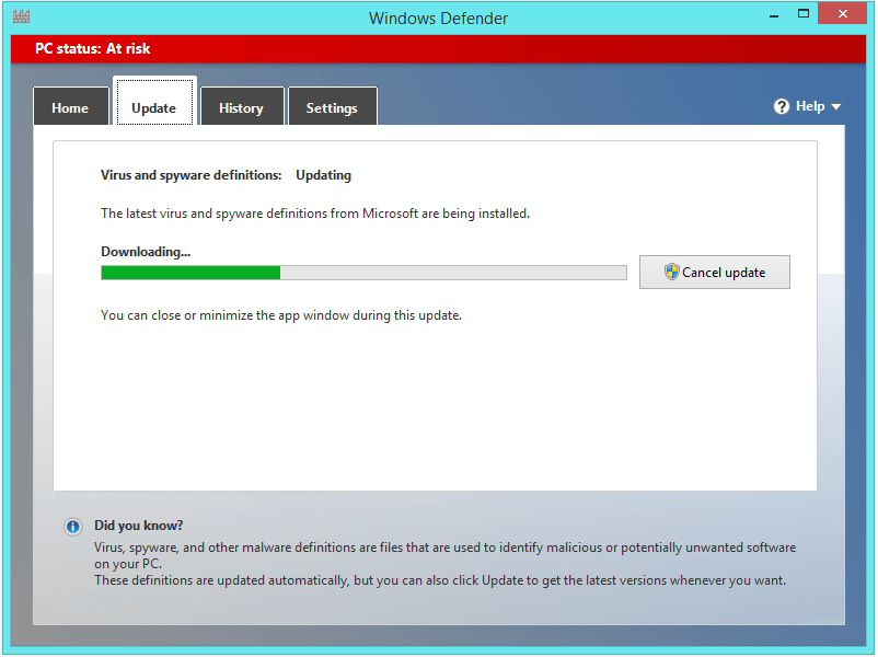 Windows 8 Faster - Windows Defender -- Windows Wally
