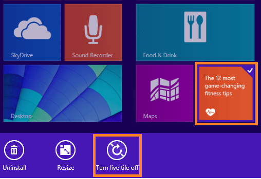 Windows 8 - How To Disable Live Tiles in Metro Screen -- Windows Wally