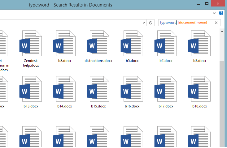 Word Document - Search - Word -- Windows Wally