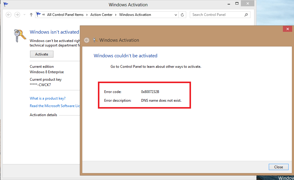 How to fix error 0x8007232b when activating windows 10 0x8007232b cover windows update windows wally ccuart
