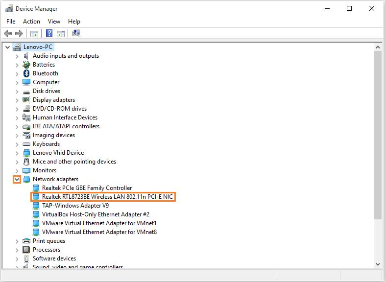 Windows 10 - Sleep Mode - Device Manager - Wireless -- Windows Wally