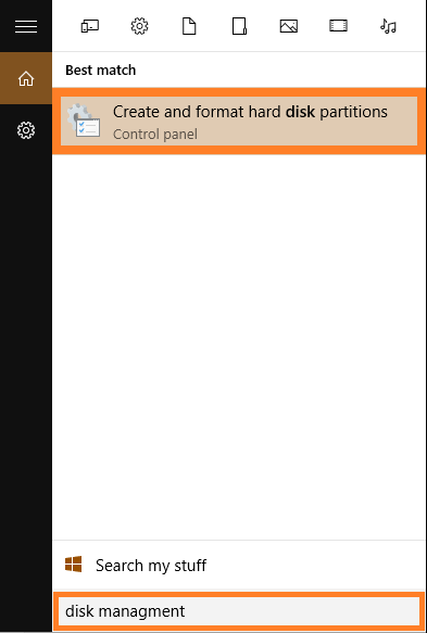 Windows 10 - Disk managment - Create and format hard disk partitions - WindowsWally