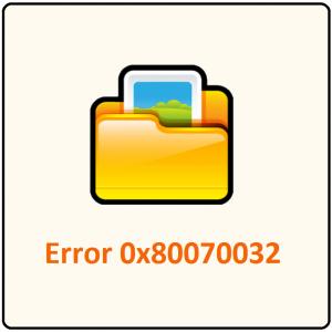 0x80070032 -- Windows 10 - File History - Featured - Windows Wally
