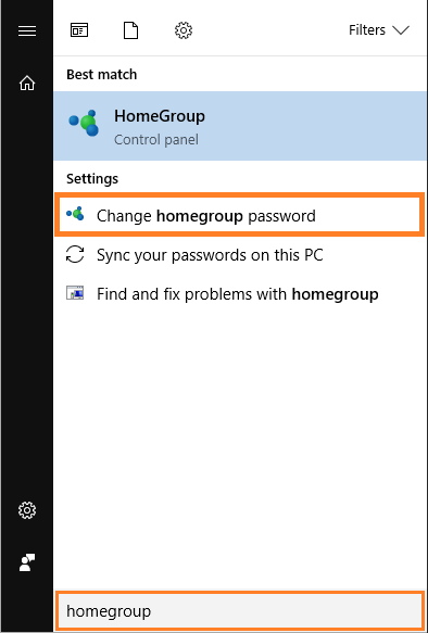Homegroup -- Windows 10 - Change Homegroup Password - FreePowerPointTemplates