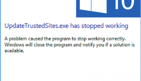 Update Trusted Sites -- Windows 10 - Featured - Error - Windows Wally
