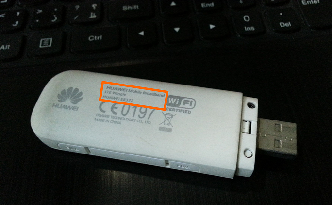 3G USB -- Make and Model - Internet USB - small - Windows Wally